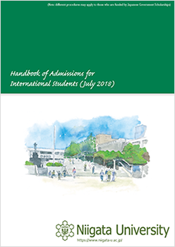 Handbook of Admissions for International Students (July 2018)