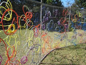 寺尾公園の子供たちの作品