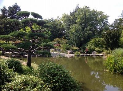 ナントにある日本庭園の島「イル・ド・ヴェルサイユ」
