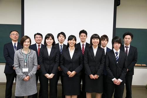 「1・2年生対象 長期インターンシップ」参加者