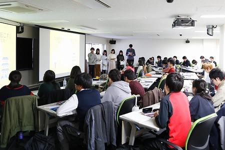 新潟地域志向科目授業の様子