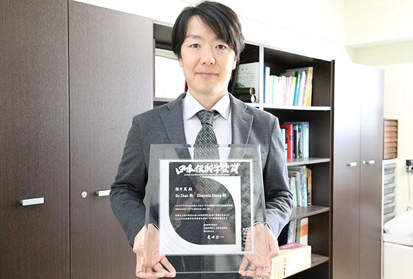 平成29年度日本伝熱学会賞「学術賞」を受賞した櫻井准教授
