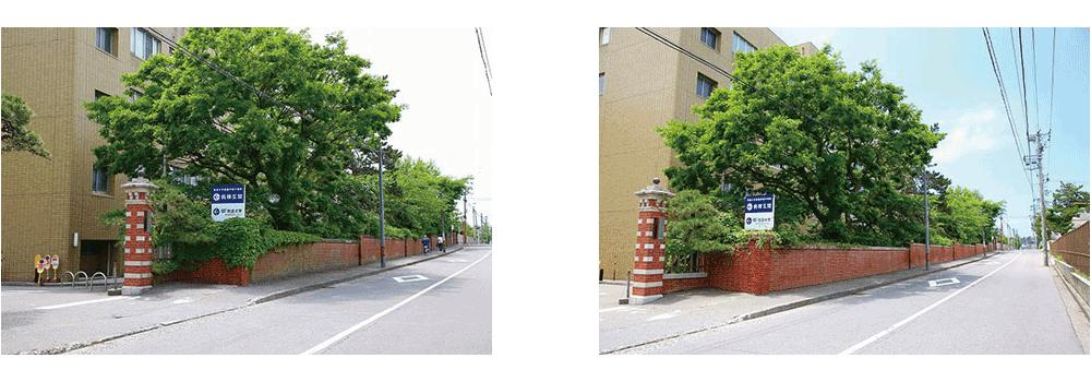 赤門修繕写真1