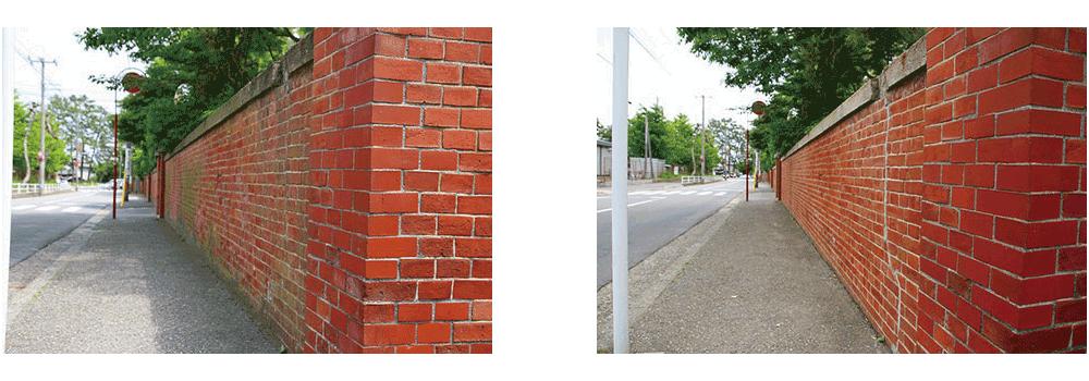 赤門修繕写真2