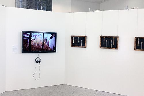 新潟市出身の映像作家 坂上直氏のアニメーション『その家の名前』は招待作品として展示・上映が行われた