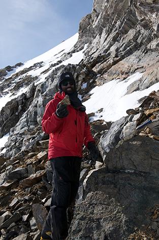 過去2回の南極大陸調査を実施。外国人として初めて日本の南極観測隊に加わった
