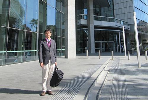 2018年8月に開催された国際科学技術社会論学会の会場(シドニー国際会議場)にて