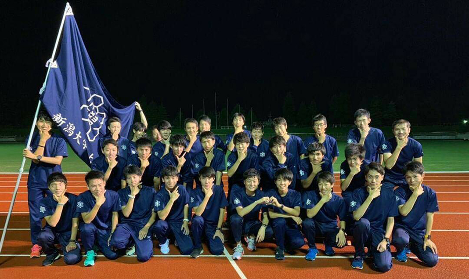 Niigata University Athletics Club Won the Way to All Japan University Road Relay