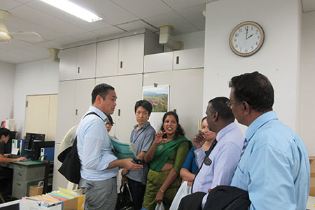 Joint Training Program with University of Peradeniya, Sri Lanka