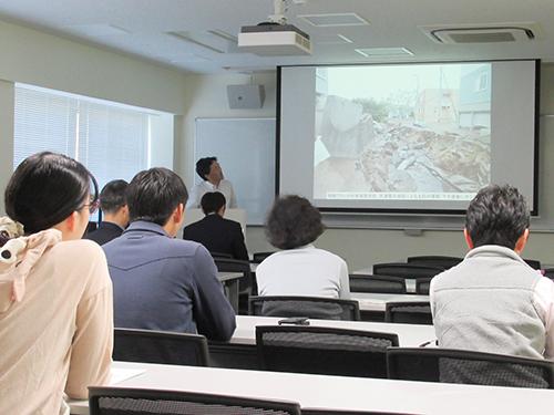 防災講演会「最近の自然災害から学ぶこと」