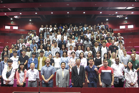 2019 Autumn Semester Opening Ceremony for International Students