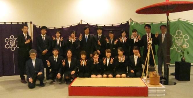 茶道部(石州流茶道部)が第69回新潟市民茶会に参加しました
